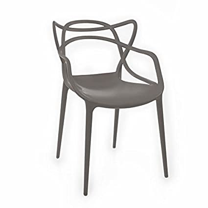 Stupendous Amazon Com American Atelier Contemporary Arm Chair Gray Pabps2019 Chair Design Images Pabps2019Com