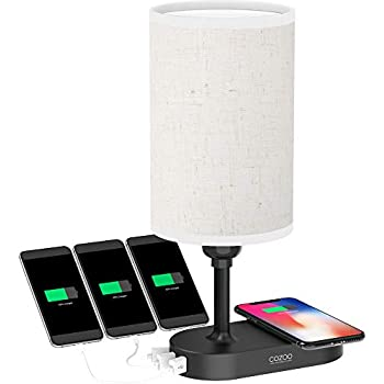 Baydel Bedside Lamp With Bluetooth Speaker And Wireless