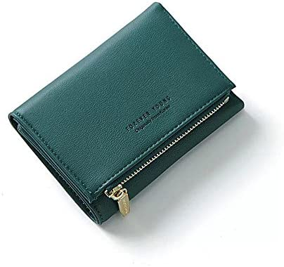 FuYu 지갑 다기능 대용량 심플 렉스 미니 지갑 인기 지갑 카드 지갑 귀여운 멋쟁이 여성용 선물 6 컬러 (전용 화장 도구 상자 첨부) / FuYu Wallet Multifunction Large Capacity Simple Three Folds Mini Wallet Popular Wallet Card Coin Purse Cu...