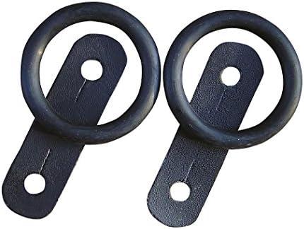 Harry`s Horse Sicherheitssteigbügel Ersatz Set- Steigbügel Ersatzgummi und Leder, Paar