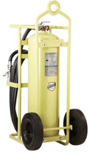 71500 wheeled halotron fire extinguisher