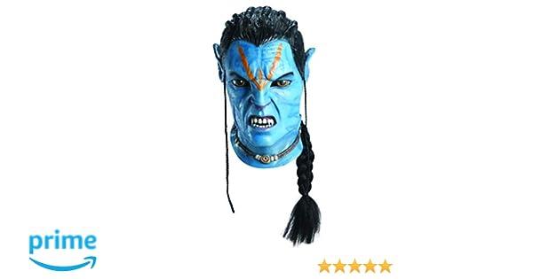 Rubies 3 68343 - Máscara de Jake Sully de Avatar (hecha en látex) [importado de Alemania]: Amazon.es: Juguetes y juegos