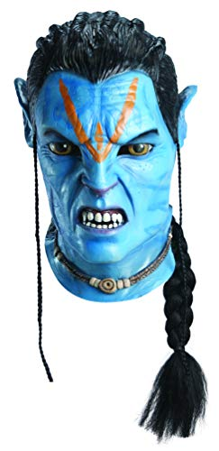 Avatar Deluxe Overhead Adult Jake Sully Latex Mask,