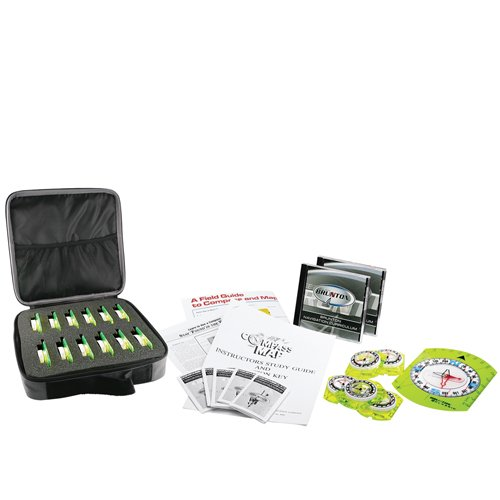 - Brunton Classic Navigation Educational Kit, 24pc