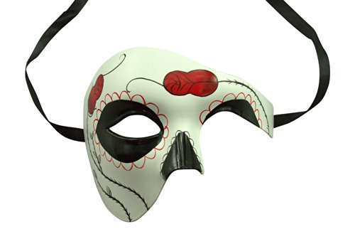 (Day of the Dead Masquerade Venetian Masks (9 Styles))