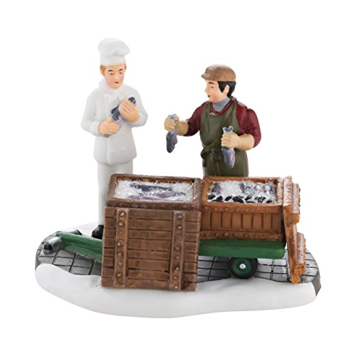 Department 56 Christmas in the City Village The Day s Catch Accessory Figurine, 2.75 inch