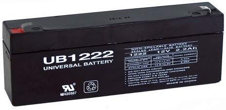 Universal Power Group 12V 2.2AH Sealed Lead Acid Battery for UB1223 Amp ES2.3- NP2.3-12 PS-1223