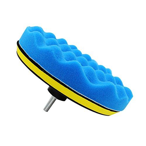 Qillu 10 Pcs Sponge Polishing Buffing Waxing Pa...