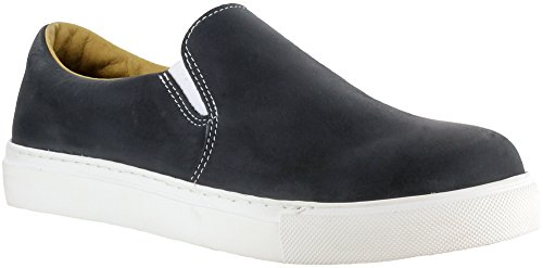 Image of Mellow Walk Jessica Womens Black Leather Slip-On Shoes