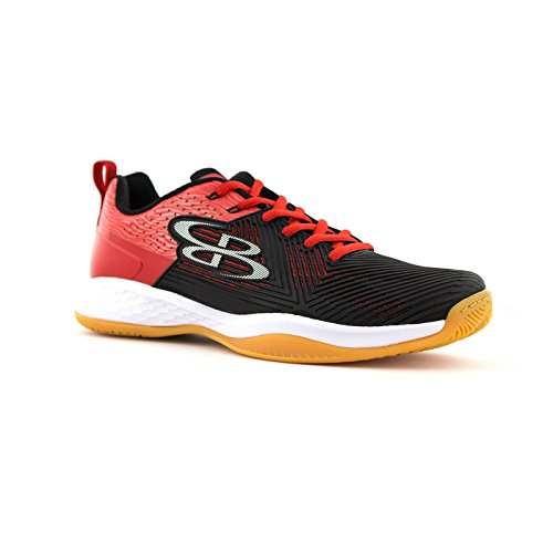 Boombah Kvinnor Hastighets Volleyboll Skor - 12 Färgalternativ - Flera Storlekar Svart / Röd