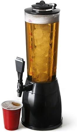 Compartimento extraíble para hielo.,Se puede utilizar para cervezas, cócteles o refrescos.,Incluye b