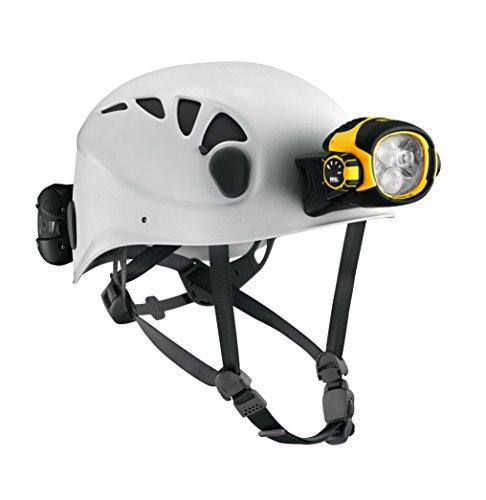 Vario White (Petzl Trios Caving Helmet with Ultra Vario Headlamp-White/Grey-Size E54AW 2)