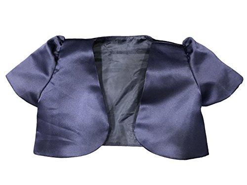 hrug Short Sleeve Cardigan Age 4-12 Years (10-11 Years, Dark Blue) ()