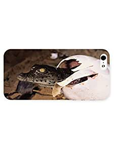 3d Full Wrap Case for iPhone 5/5s Animal Crocodile95 by runtopwell
