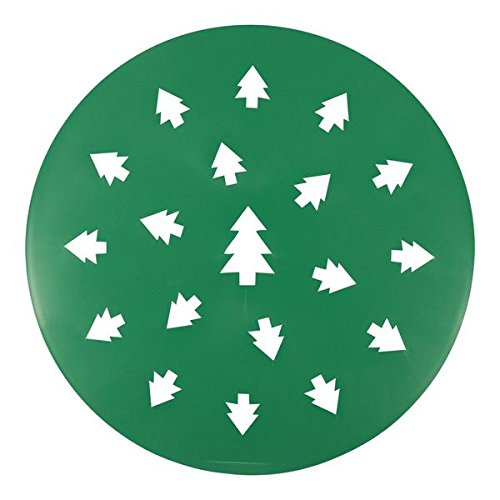 (Kitchen Supply 2208 Evergreen Tree Pattern Pie Top Cutter)