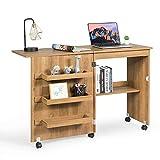 Giantex Folding Sewing Table, Multifunction Large