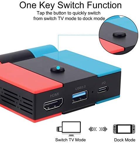 KUNMO Station d'accueil pour Nintendo Switch, - Actualités des Jeux Videos