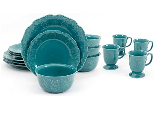 the-pioneer-woman-cowgirl-lace-16-piece-dinnerware-set-teal