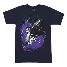 My Little Pony Painted Princess Luna Nightmare Moon Adult Navy T-Shirt
