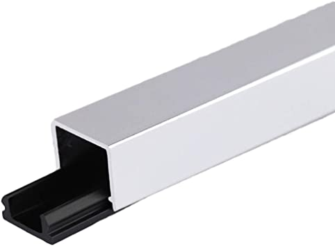 GWXFHT Building Products U Type Aluminum Alloy Decorative Strip Waterproof Threshold Strip Floor Edge Strip Doorway Blanking Strip W35/×H12/×L1000MM Color : B