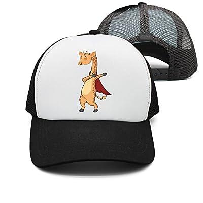 FanYe Funny Dabbing Giraffe Dab Mesh Truck Hat Snapback Baseball Caps Adjustable