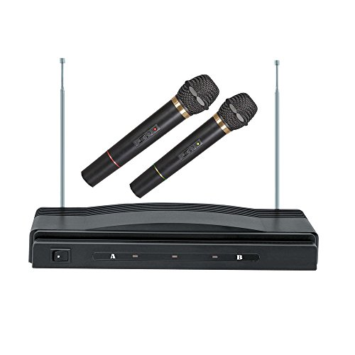 (Supersonic SC-900 Professional Wireless Dual Microphone System Kit)