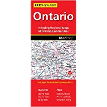 Ontario: Detailed Road Map, Detailed Area Maps, Barrie, Greater Troronto Area, Kitchener/Waterloo ... Windsor / [Prepared For]