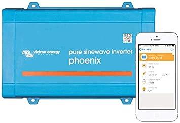 Victron Energy - Inversor Phoenix 1000W 24V 1200VA Victron Energy VE.Direct Schuko 24/1200 - PIN242120200