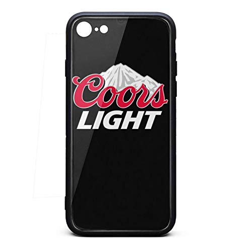 Coors-Light-Logo- Phone Case for iPhone 7/8TPU Full Body Protection Stylish Anti-Scratch Fashionable Glossy Anti Slip Thin Shockproof Soft Case (Case Light Coors)