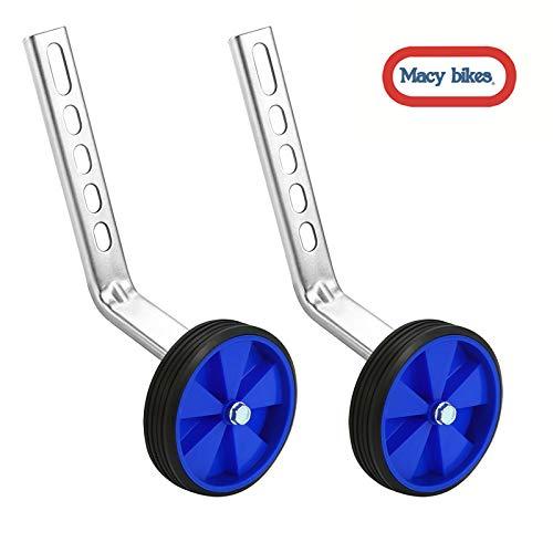 Macy Training Wheels for Children's Bicycle stabiliser(for 12 14 16 18 20 inch Bike) ()
