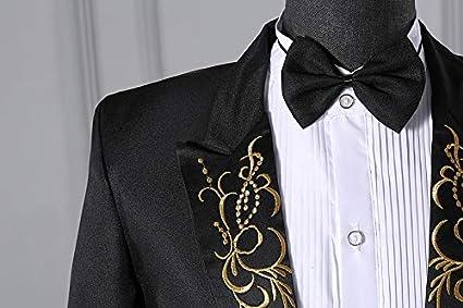 Star-bw Veste Costume Homme Pantalon Slim F/ête Mariage Machaon Smoking