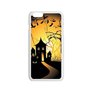 Happy Halloween haunted house Case for Iphone 6