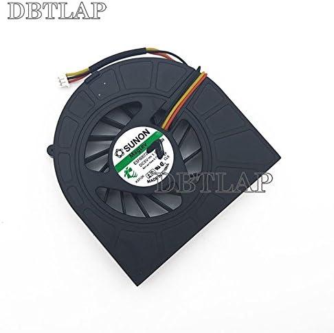 DBTLAP Laptop CPU Fan Compatible for DELL INSPIRON N5010 M5010 CPU Cooling FANCECON F91G DFB451005M20T 23.10377.001 DC5V 0.5A