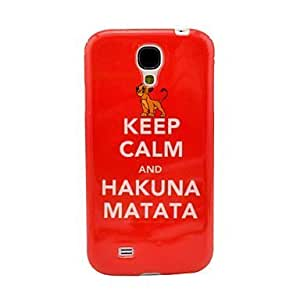 Keep Calm and Pattern TPU Soft Case for Samsung Galaxy S4 I9500
