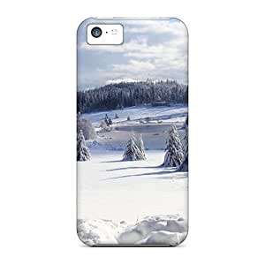 Flexible Tpu Back Case Cover For iPhone 6 4.7 - Winter Forest Pond