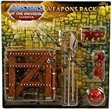 HeMan Masters of the Universe Classics Exclusive Weapons Rack