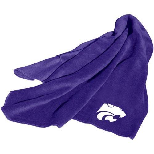 Logo Kansas State Wildcats Fleece Throw Blanket -