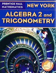 Prentice Hall Mathematics, New Yorh: Algebra 2 and Trigonometry
