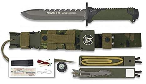 K25-32134 - K25. Cuchillo Thunder II. Camo Verde. 17 ...