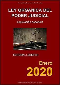 Ley Orgánica del Poder Judicial: Amazon.es: Legislación