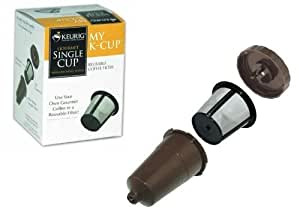 Keurig My K-Cup Reusable color Brown Coffee Filter for B30 B31 B40 B50 B60 B70 K10 K45 K65 K75