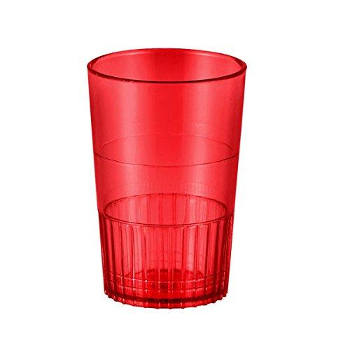 (Red 1 1/2 Oz Neon Lights Plastic Shot Glasses - Case of 500 )