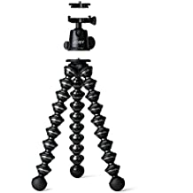 JOBY GorillaPod Focus with Ballhead X Bundle. Flexible Camera Tripod with Ballhead for DSLR Camera Rigs with Zoom Lenses up to 5kg.