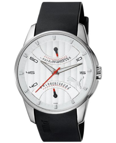 Puma Men's Watch(Model: 24H Race Silver White)