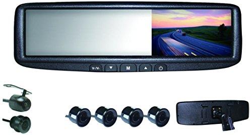 HD CCD Lens Bar-Type License Plate Camera w/Adjustable Gridlines - Lite Trigger Frame