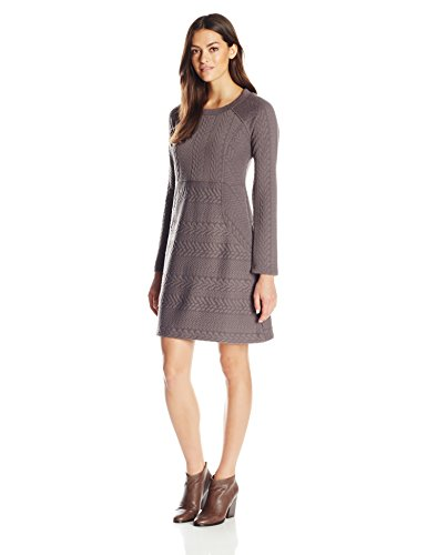 prAna Women's Macee Dress, X-Small, Muted Truffle