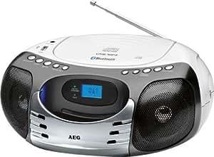 Jugador AEG SR4356BT portátil de CD / MP3 con radio y Bluetooth