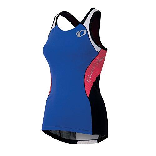 Pearl izumi elite in-r-cool tri triathlon body t-shirt-femme-bleu/noir - 2014