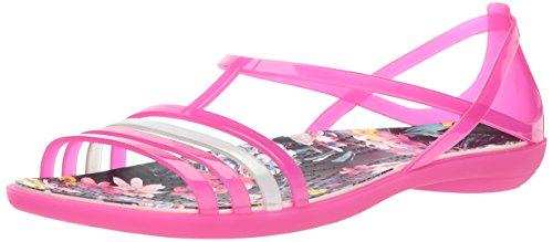 Pour Candy Graphiques Sandales Crocs Pink Isabella Femmes tropical AvtOq