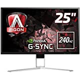 Monitor LED Gamer Agon, 240Hz, 1 ms, HDMI, Display Port, USB, G-Sync, AOC, AG251FG, 24.5""